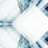 Sottragga la priorità bassa di architettura rappresentazione 3d Fotografia Stock