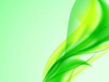 Sottragga la priorità bassa di verde giallo Immagine Stock Libera da Diritti