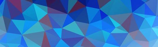 sottragga la priorità bassa poligonale Immagine Stock