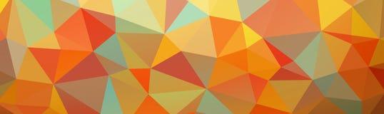 sottragga la priorità bassa poligonale Fotografie Stock