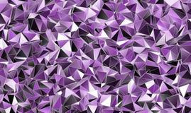 sottragga la priorità bassa Struttura poligonale Immagini Stock