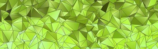 sottragga la priorità bassa Struttura poligonale Fotografia Stock