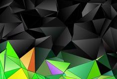sottragga la priorità bassa struttura a triangolo del mosaico Immagine Stock Libera da Diritti
