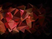 sottragga la priorità bassa struttura a triangolo del mosaico Fotografie Stock Libere da Diritti