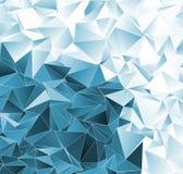 sottragga la priorità bassa struttura a triangolo del mosaico Fotografia Stock Libera da Diritti