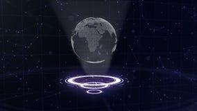 sottragga la priorit? bassa Cerchi d'ardore Viola luminosa, spirale porpora Tunnel dello spazio Copi lo spazio Fine in su 3d lowe royalty illustrazione gratis