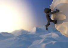 Sottragga la scalata Immagini Stock