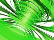 Sottragga le Linee Verde illustrazione di stock