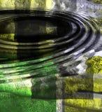 Sottragga le ondulazioni Fotografie Stock Libere da Diritti