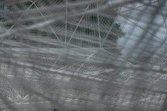 Sou Fujimoto con una struttura della struttura nell'isola di Naoshima immagini stock