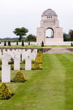 SOUCHEZ, FRANCE/EUROPE - SEPTEMBER 12 : Cabaret Rouge British Ce. Metery in Souchez France on September 12, 2015 stock images