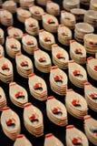 Soucoupes en céramique Photographie stock libre de droits