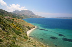 Souda bay. View in Crete Stock Photos