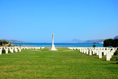 Free Souda Bay Allied War Cemetery, Crete. Royalty Free Stock Photo - 83693525