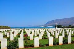 Free Souda Bay Allied War Cemetery, Crete. Royalty Free Stock Image - 83694426