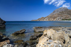 Souda Bay near Plakias, Crete. Souda Bay near Plakias, southern coast of the island of Crete Stock Image