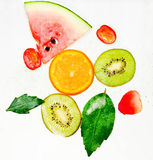 Soude de fruit Images stock