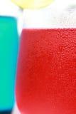 Soude rouge de bleu de soude Photographie stock libre de droits