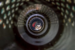 Soudeuse de tunnel en métal photos stock