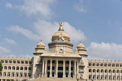 Soudha de Vidhana, Bangalore fotografía de archivo libre de regalías