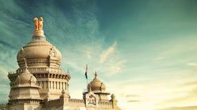 Soudha de Vidhana, Bangalore, Karnataka imágenes de archivo libres de regalías