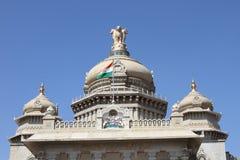 Soudha de Vidhana en Bangalore Imagen de archivo
