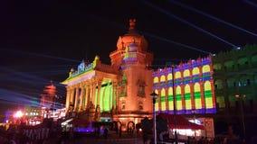 Soudha de Vidhana, señal de Bangalore Imagenes de archivo