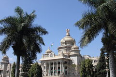 soudha di vidhana a Bangalore Fotografia Stock