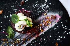 Souffle σοκολάτας Στοκ Εικόνα