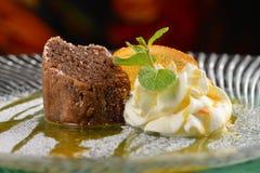 Souffle σοκολάτας Στοκ Φωτογραφία