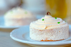 Souffle cake Stock Photography