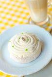 Souffle cake Stock Image