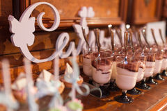 Souffle com chocolate Fotografia de Stock Royalty Free
