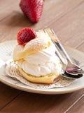 Souffle crème image stock