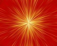 Souffle de feux d'artifice Image stock