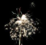 Souffle de feux d'artifice au 4ème de la célébration de juillet Image stock