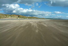 Souffle de sable Image stock