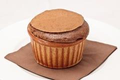 Souffle do chocolate no ramekin Imagens de Stock Royalty Free