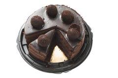 Souffle för chokladkaka arkivfoto