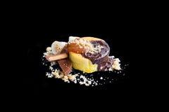 Souffle hot cake Stock Photo