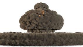 souffle 4k nucléaire illustration libre de droits