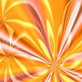 Souffle orange de feux d'artifice Photos stock