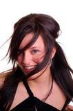 Soufflement de cheveu Image libre de droits