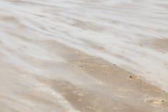Soufflement de sable Photos stock