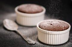 souffles σοκολάτας Στοκ εικόνες με δικαίωμα ελεύθερης χρήσης