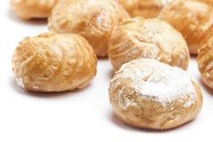 Souffles crèmes Photo stock