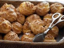 Souffles crèmes Image stock