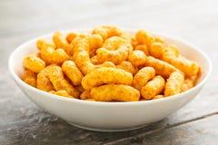 Souffles d'arachide Image libre de droits