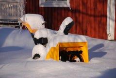 Souffleuse de neige Photo libre de droits
