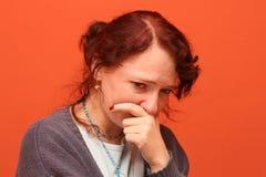 Souffrance et larmes Photo libre de droits
